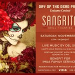 Day of the Dead Fiesta and Benefit for Imua, Nov. 1
