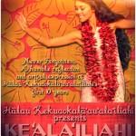 Keʻalaʻiliahi. Event poster.