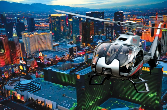 Maverick Helicopters over Las Vegas. Courtesy photo.