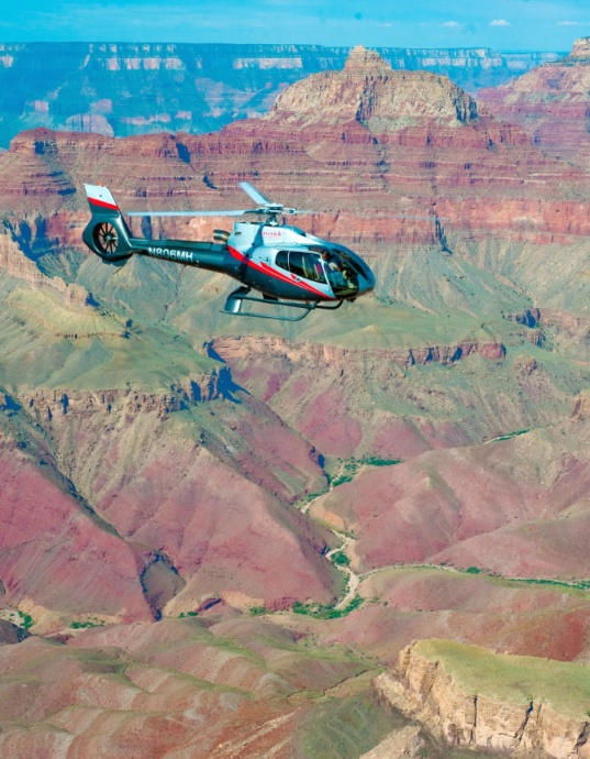 Maverick Helicopters over the Grand Canyon. Courtesy photo.