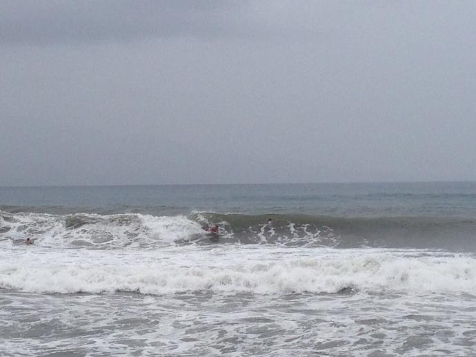 Shark sighting in Māʻalaea (south Maui) 10/18/14 11:30 a.m., Photo by Jack Dugan.