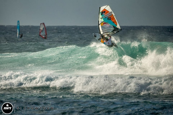 Aloha Classic - Day 1. Image courtesy AWT Sicrowther.