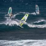 Ho'okipa wind surfing 11/21/14 / Image: Jimmie Hepp