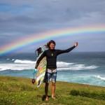 Professional Surfer Matt Meola at Ho'okipa / Image: Jimmie Hepp