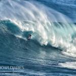 """Shane Dorian at Pe'ahi """"Jaws"""" / Image: Sophie Louca Fish Bowl Diaries"""