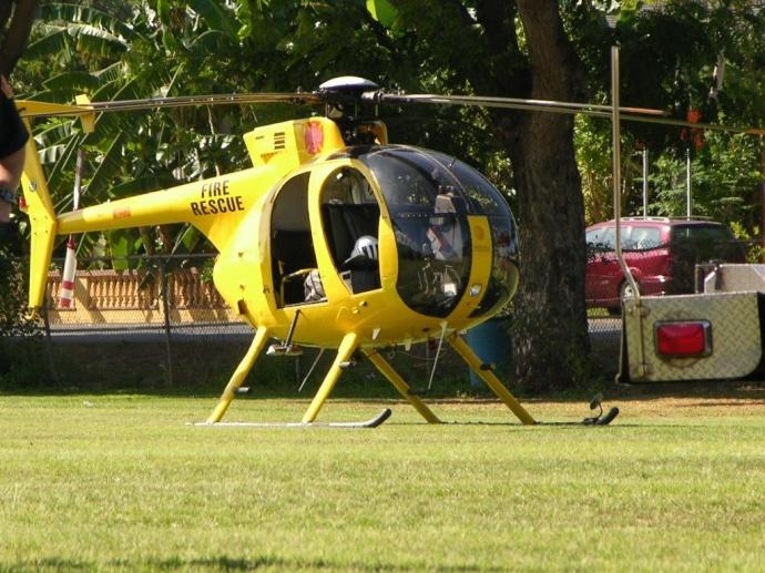 Maui's Air 1 helicopter. Photo courtesy County of Maui.