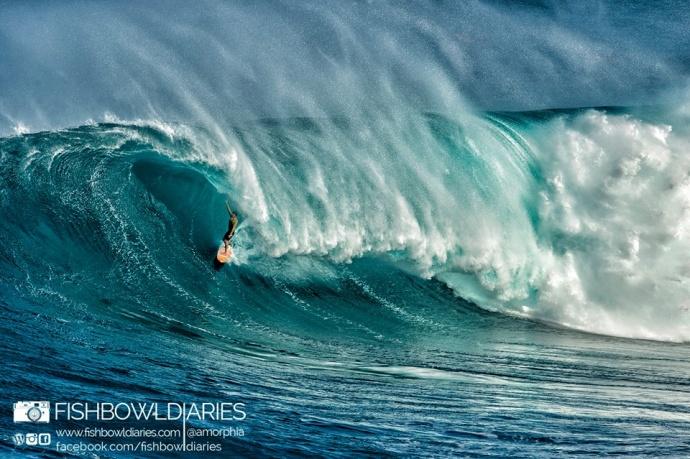 Pe'ahi (Jaws) 11/12/14 - Image: Fish Bowl Diaries