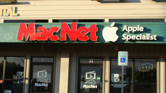 MacNet store. File photo by Wendy Osher.