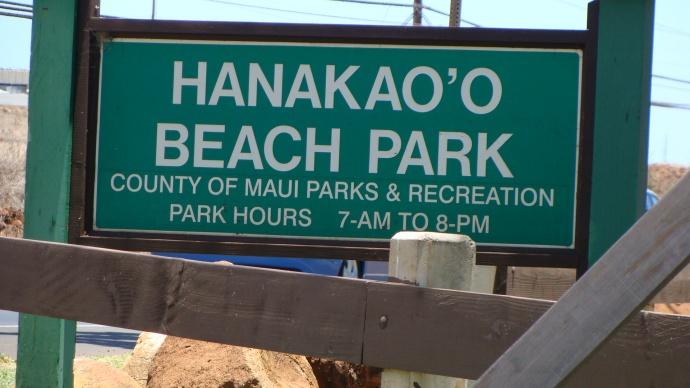 Hanakaʻōʻō Beach Park. Photo by Wendy Osher.