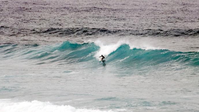 Ho'okipa Surf on Nov. 9, 2014 / Image: Asa Ellison