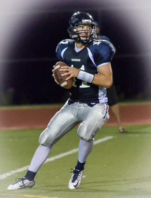 Kamehameha Maui quarterback Chase Newton was the MIL's top passer for the second straight season. Photo by Rodney S. Yap.
