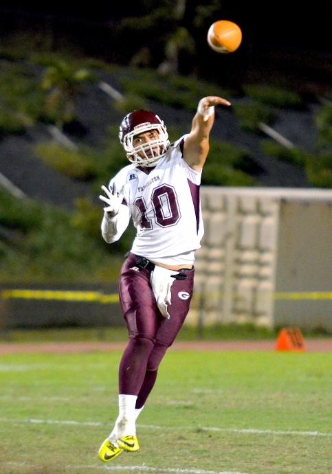 Farrington quarterback Montana Liana