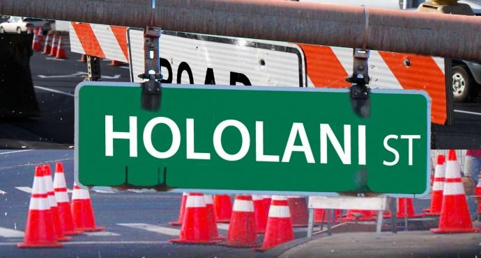 Hololani Street, Maui Now graphics.