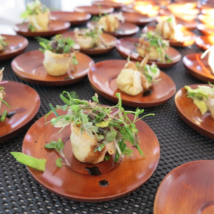 Dishes from a previous Kai Kanani and The Market Maui by Capische? event. Courtesy image