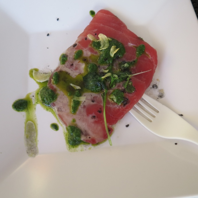 An ahi dish from a previous cruise. Courtesy image