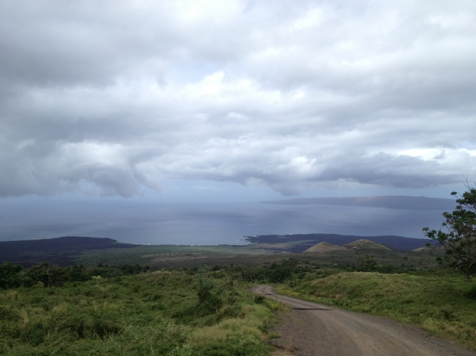 Taken from up country Maui / Image: Malika Dudley