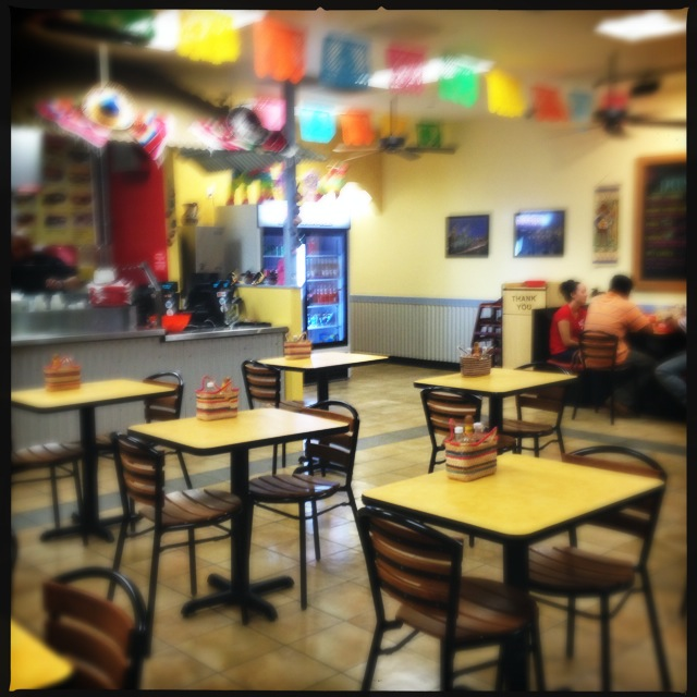The restaurant's interior. Photo by Vanessa Wolf