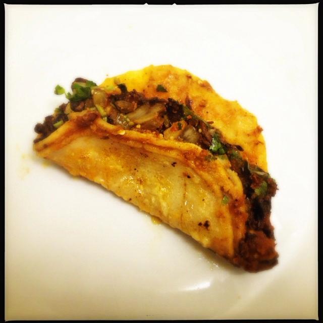 The Birria Taco. Consider a bib. Photo by Vanessa Wolf