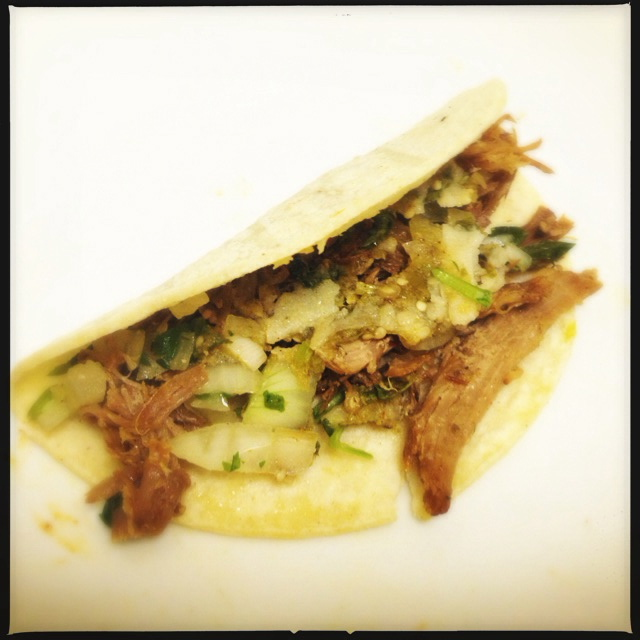 The Carnitas Taco. Photo by Vanessa Wolf