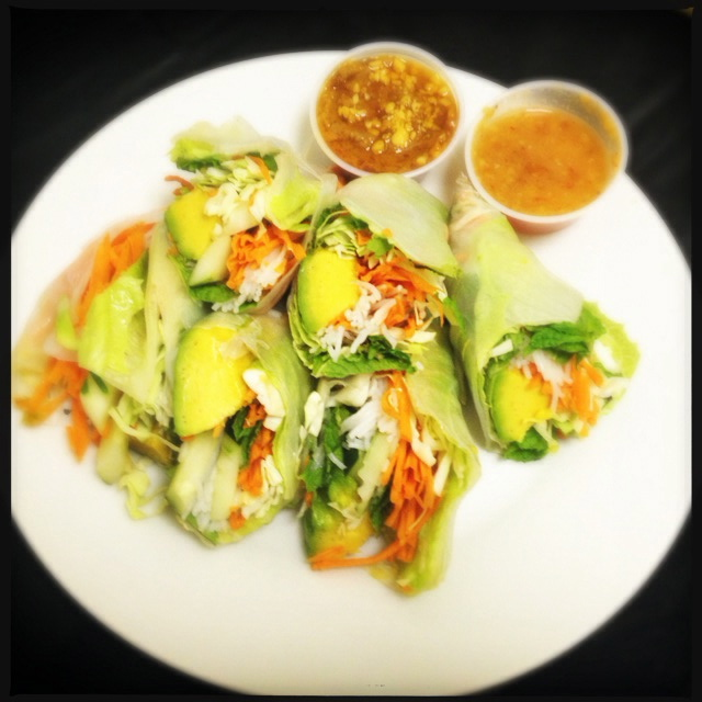 The Summer Rolls were melting like a snow cone in Phoenix. Photo by Vanessa Wolf