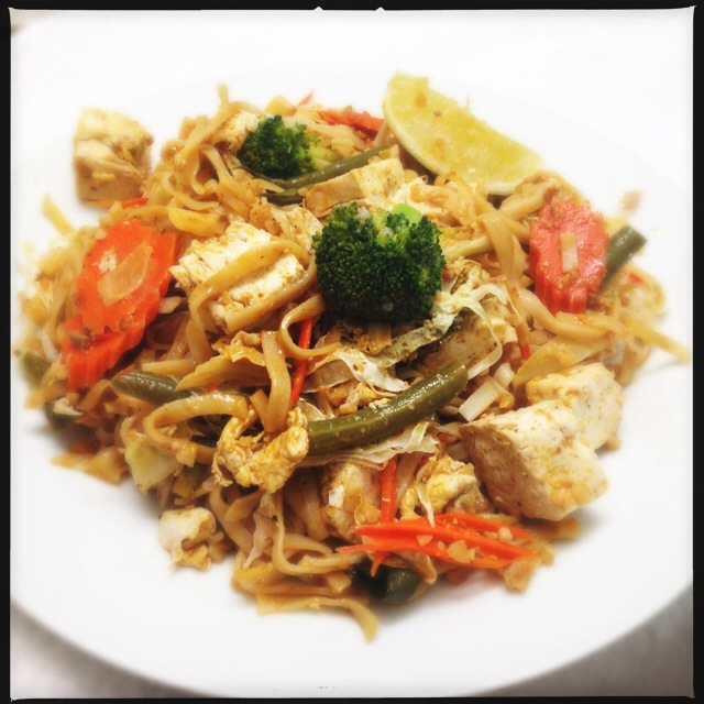 The Pad Thai with Tofu. Photo by Vanessa Wolf