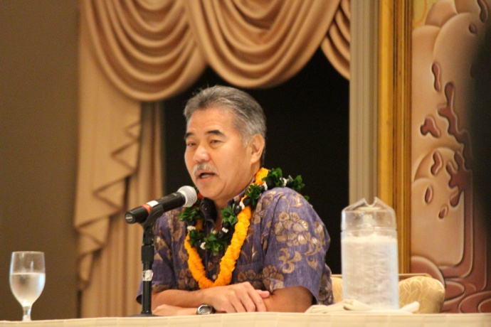 Governor Elect David Ige. Photo by Wendy Osher.