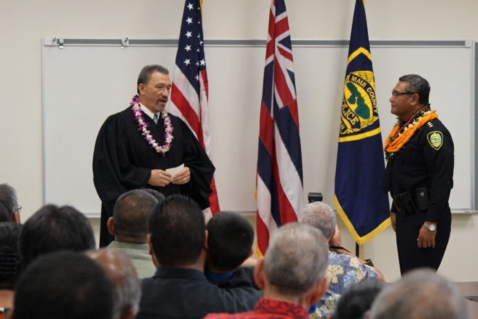 The Honorable Richard Bissen Jr., Judge, Second Judicial Circuit. Photos by Wendy Osher.