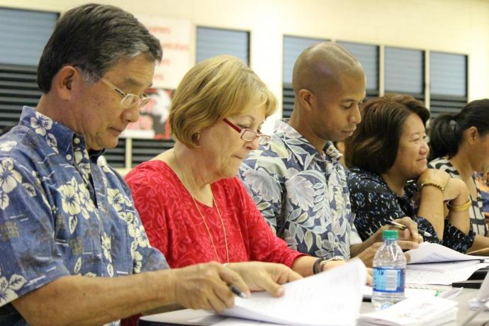 Legislative hearing on the state's public health system budget shortfalls.  Photo 11/10/14 by Wendy Osher.