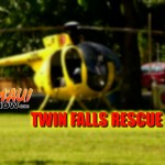 Injured California Visitor Airlifted from Twin Falls