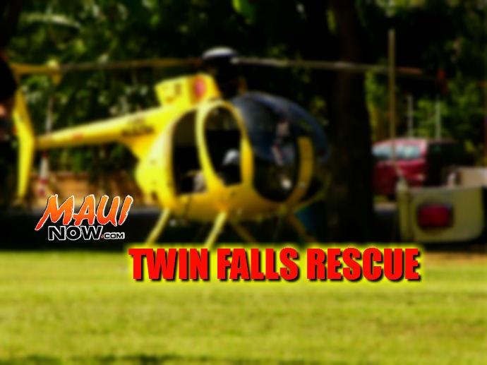 Twin Falls air rescue graphic.