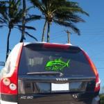 Vehicle decal. Maui Now image.