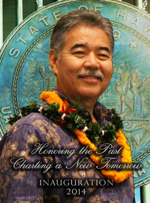 Ige Inauguration, image & graphics by Wendy Osher.
