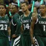 The University of Hawai'i men's basketball team will play Pittsburgh on Friday, beginning at 7 p.m., at War Memorial Gymnasium. Photo by UH Athletics / Jordan Fong.