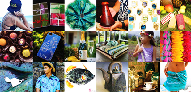 Made in Maui featured products.  Courtesy image.