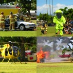 Maui Fire Safety Demonstration. Photos courtesy County of Maui.