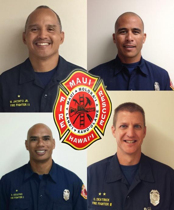 Photos courtesy Maui Fire Department.