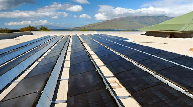 Solar array. File photo Wendy Osher / Maui Now.