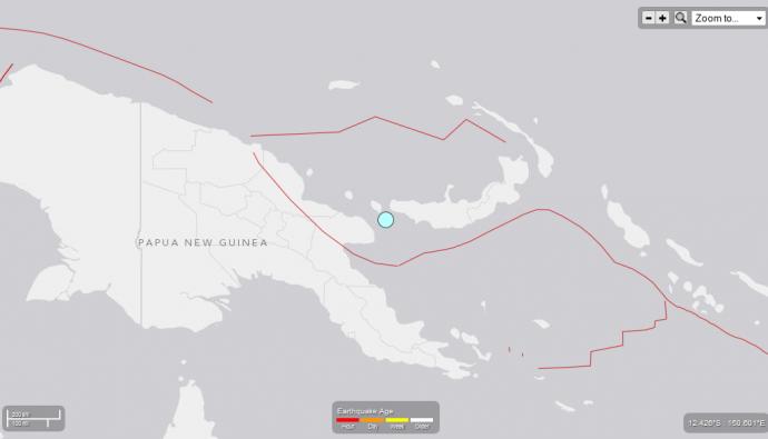 Papua New Guinea quake 11/6/14.  Image courtesy USGS.