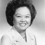 Patsy Mink, 1965. Photographer unknown.  Image courtesy of Library of Congress.