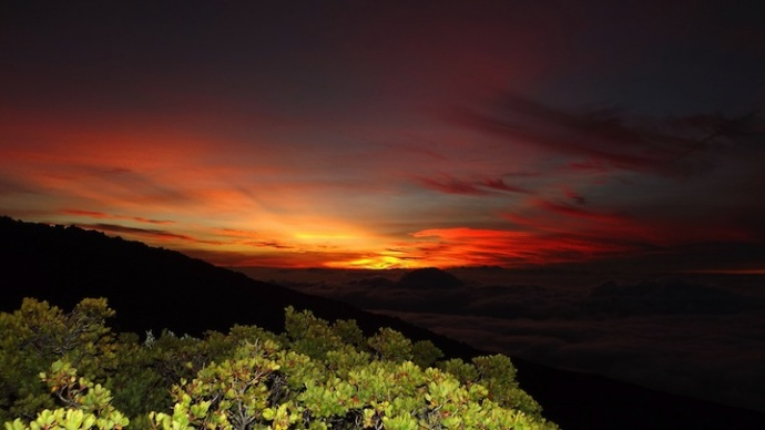 Haleakala Sunset / Image: Asa Ellison