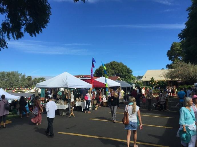 Haleakalā Waldorf School Holiday Faire. Photo by Jack Dugan.