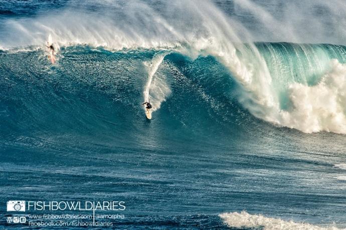 Featured Image: Sofie Louca @fish bowl diaries Pe'ahi yesterday