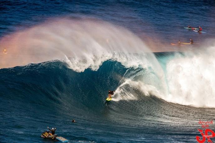 """Pe'ahi """"Jaws"""" Dec. 10, 2014 / Image: Jimmie Hepp"""