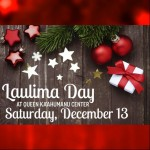 Laulima Giving Tree program. Event promotional material courtesy Queen Kaʻahumanu Center.