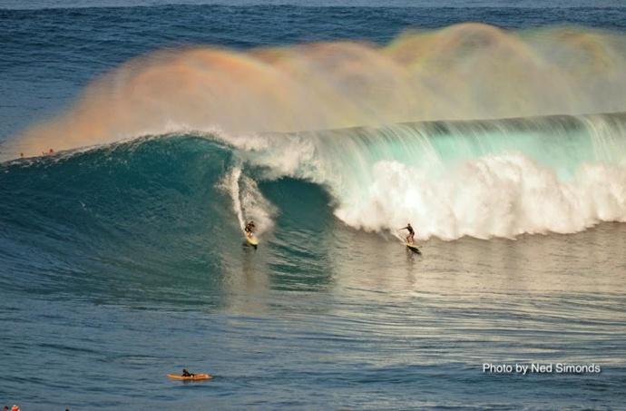 Peahi (Jaws) 12/9/14 - Image: Ned Simonds