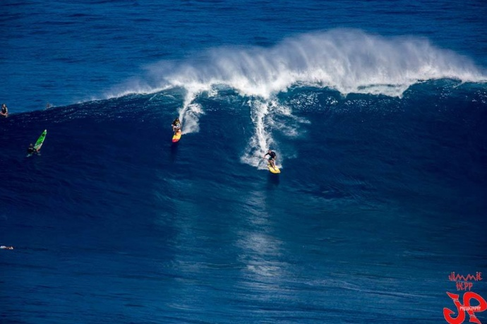 "Pe'ahi ""Jaws"" on Tuesday December 9, 2014 / Image: Jimmie Hepp"