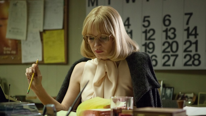 National Board of Review's Best Supporting Actress Jessica Chastain stars in its Best Picture, A MOST VIOLENT YEAR, Courtesy photo.
