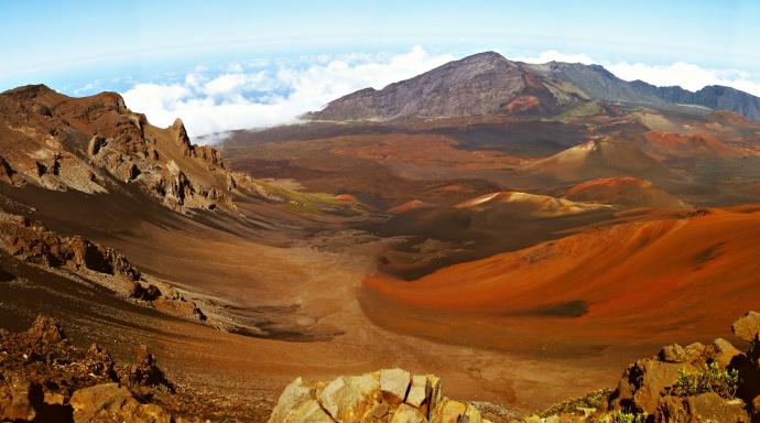 Iconic crater view. Photo courtesy Haleakalā National Park.