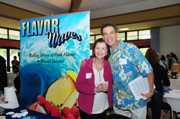Mike Abrams, MFTC Founder and Owner of Flavor Waves (pictured with mom Gloria Over) will be among the 2015 MFTC Supply and Service Expo exhibitors. Applications are now being accepted for vendors wanting to participate.