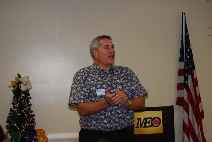 Greg Kanue from Bank of Hawaiʻi. Photo courtesy MEO.